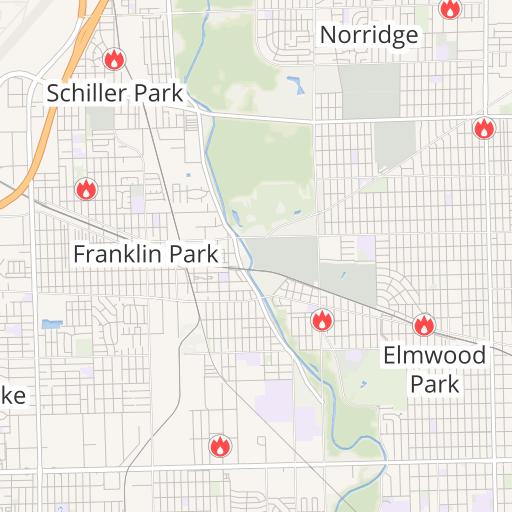 Franklin Park Illinois Map.Community Assessment Franklin Park Fire Department